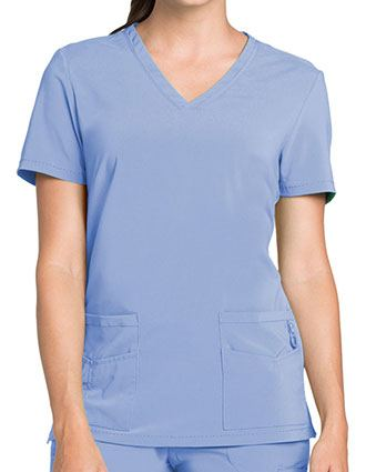 Landau Lynx Women's Unleashed V-Neck Scrub Top