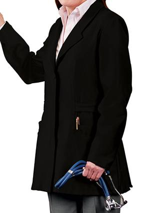 Meta Women's Stretchable 30 Inches Consultation Lab Coat