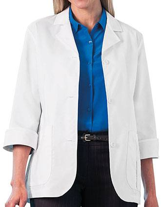 Meta 29 Inches Ladies 3/4 Sleeve Stretch Labcoat