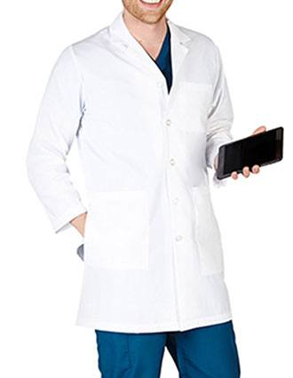 Natural Uniforms Mens Five Button Ipad Lab Coat