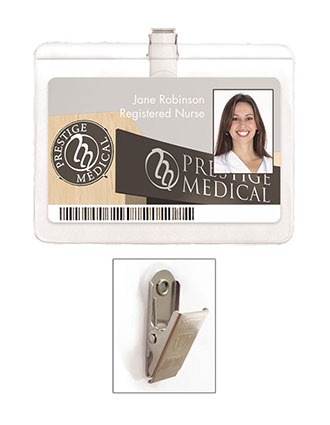 Prestige Standard ID Holder With Clip