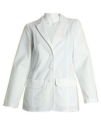 PU Made to Order Women's 28 Inches Fashion Lab Coat