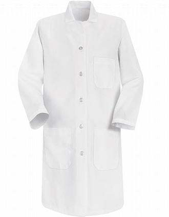 Red Kap Womens Three Pocket 37 Inches Long Medical Lab Coat