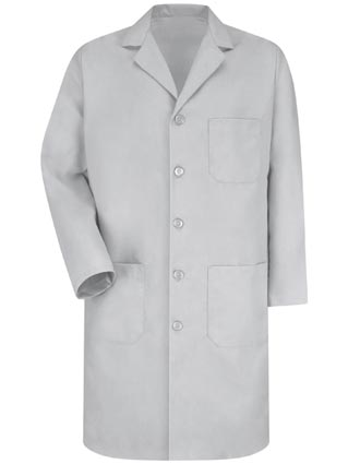 Red Kap Men's Three Pocket 41.5 Inches Long Lab Coat