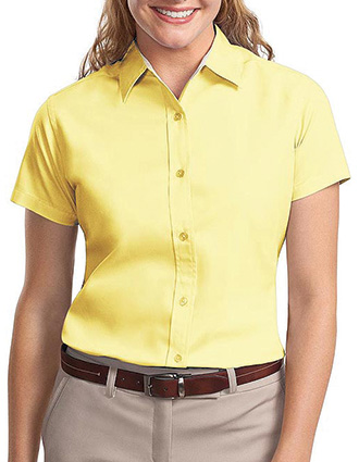 Sanmar Port Authority Womens Easy Care Short Sleeve Shirt