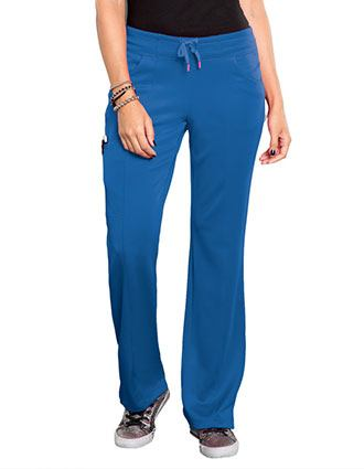 Smitten Women's Electric Straight Leg Drawstring Pant