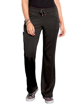 Smitten Women's Electric Straight Leg Petite Pant