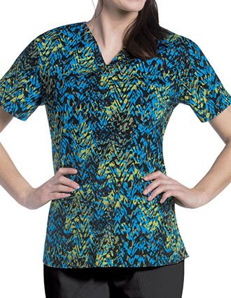 Urbane Women's Wayward Crush Print V-Neck Tunic