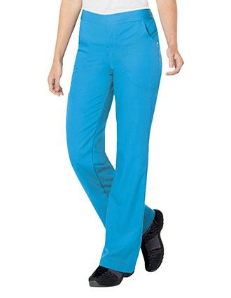 Urbane Women's Bailey Cargo Elastic Waistband Medical Scrub Pants