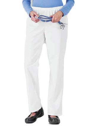 White Swan Fundamentals Womens Two Pocket Scrub Pants