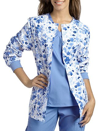 White Cross Womens Cheery Bouquet Jacket