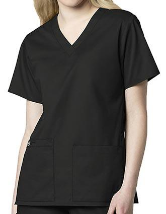Wink Scrubs Women's V-Neck Medical Scrub Top