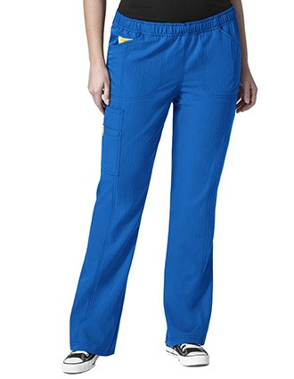 Wink Scrubs WonderWink Plus Boot Cut Cargo Nurse Scrub Pants
