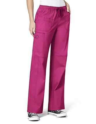 Wink Scrubs WonderFlex Faith Lady Fit Boot Cargo Nurse Scrubs Pants