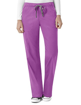 WonderWink Next Women's Logan Elastic Waist Tall Scrub Pant