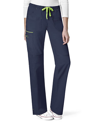 Wonderwink Wonderflex Women's Joy-Denim Style Straight Pant