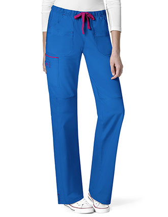 Wonderwink Wonderflex Women's Joy-Denim Style Straight Tall Pant