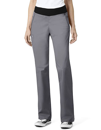 WonderWink Seven Flex Women's Straight Leg Pull On Pant