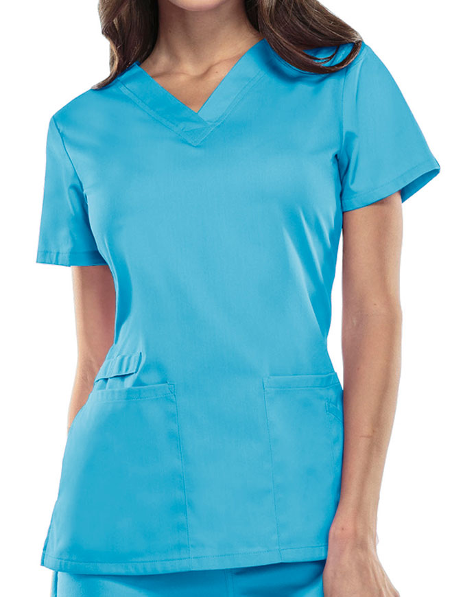Cherokee Workwear WW Flex Women's V-Neck Top