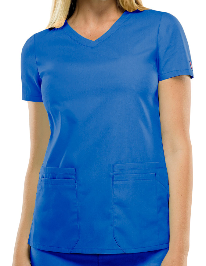 Dickies EDS Signature Women's Jr. Fit V-Neck Scrub Top