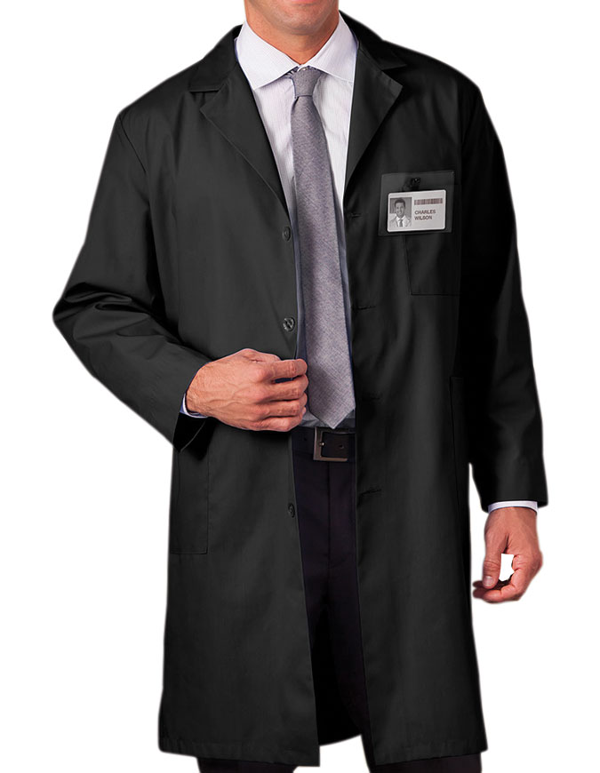 Black lab coats for women
