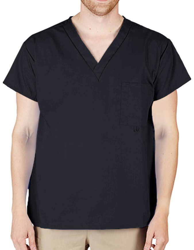 Natural Uniforms Unisex V-neck Classic Scrub Top