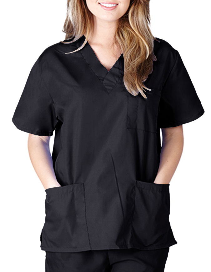 Natural Uniforms Unisex Classic Scrub Top