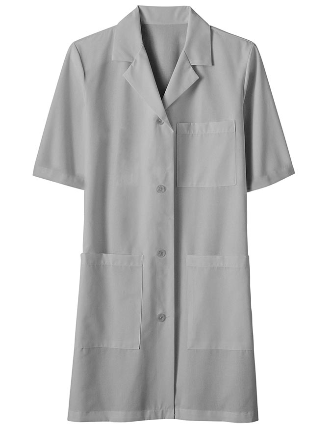 Unisex 40 Inches Three Pocket Assorted Colored Lab Coats