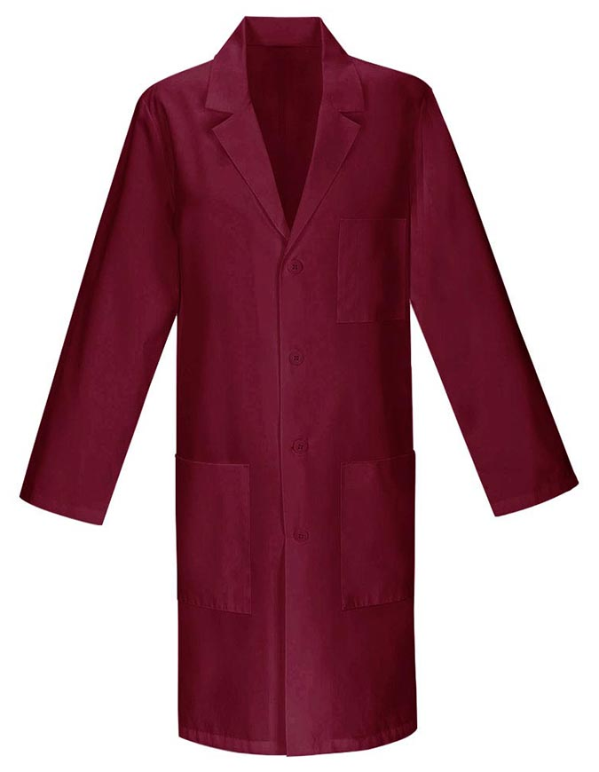 Unisex Colored 40 Inches Three Pocket Long Lab Coats