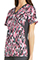 Cherokee A Walk With Nature Women's Contrast Knit Panel Printed Top