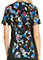Cherokee Bold Statement Women's Contrast Knit Panel Printed Top