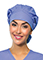 Code Happy Bliss w/ Certainty Unisex Bouffant Scrub Hat