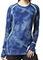 WonderWink FFX Sports Women's Abstract Sporty Printed Long Sleeve Tee