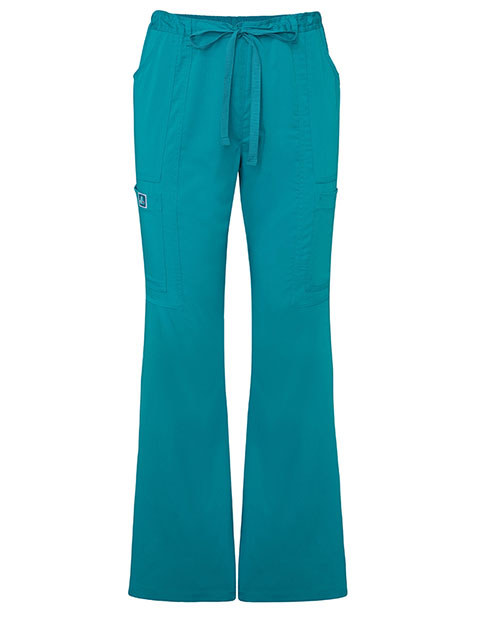Adar Indulgence Women's Jr. Fit Low Rise Boot Cut Patch Pocket Pants