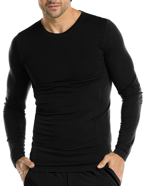 Barco One Men's Long Sleeve Crew Neck Tee