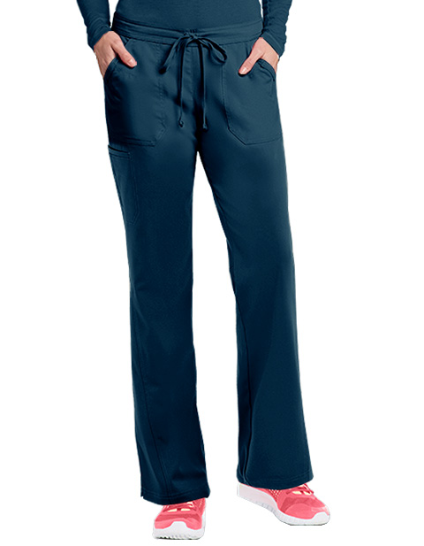 Barco NRG Women's 5-Pocket Embroidered Cargo Scrub Pant