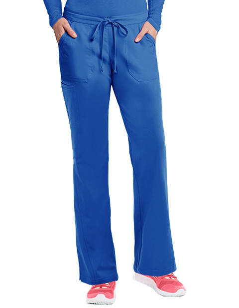 Barco NRG Women's 5-Pocket Embroidered Tall Scrub Pant