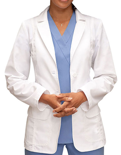 Barco Prima Women 28 Inches Two Flapped Pocket Medical Lab Coat