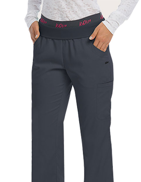 Barco KD110 Women's Four Pockets Logo Elastic Band Pant