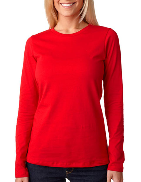 6450 Bella+Canvas Missy Long-Sleeve Crew Neck Jersey Tee