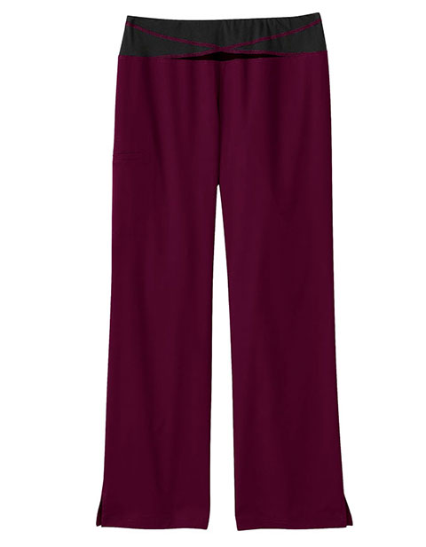 Bio Stretch Women's Knit Yoga Scrub Pants