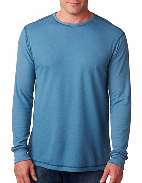 Bella+Canvas Men's Thermal Blended Long-Sleeve Tee