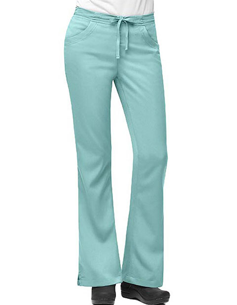 Carhartt Women 3-Pocket Flare-Leg Scrub Pants