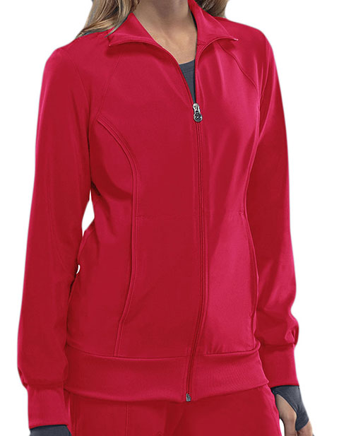 Certainty Women's Zip Front Warm-up Jacket