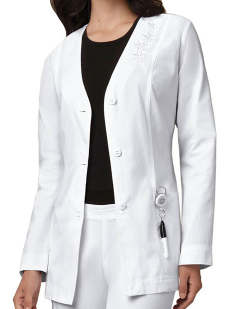 Cherokee Womens 29 Inches Cardigan Medical Lab Coat