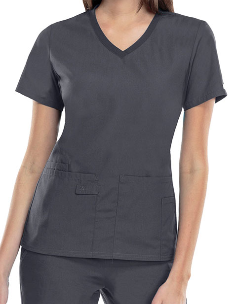 Cherokee Pro-Flexibles Womens Multipocket V-Neck Nursing Scrub Top