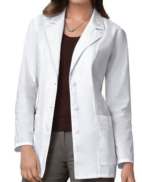 Cherokee Women 30 Inches Embroidered Medical Lab Coat