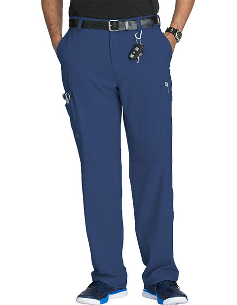 Cherokee Infinity Mens Antimicrobial Fly Front Cargo Tall Pant