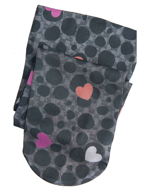 Cherokee Women's Love Spotted Knee Highs 12 mmHg Compression