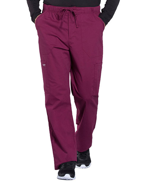 Cherokee Workwear Professionals Men's Tapered Leg Drawstring Cargo Pant